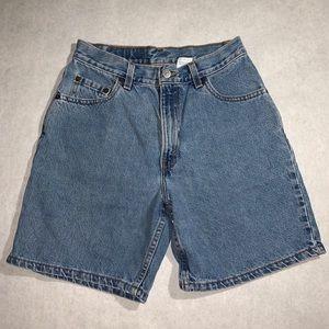Levi's Lightwash Denim Shorts